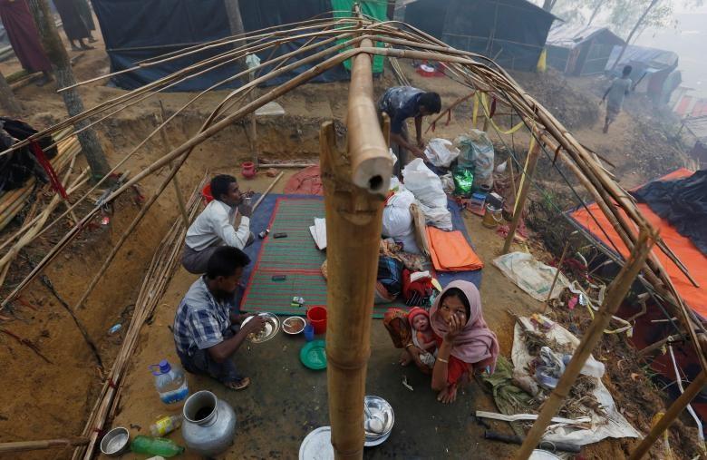 تصاویر   وضعیت باورنکردنی کمپهای اسکان مسلمانان روهینگیا