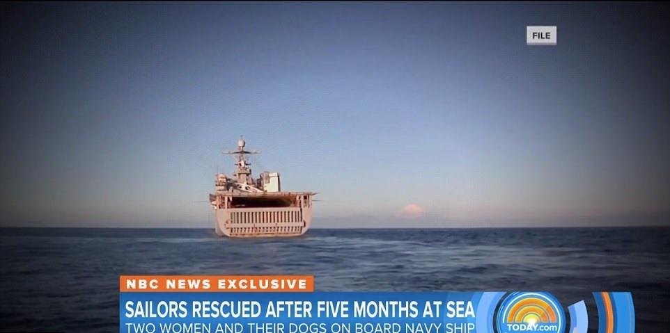 تصاویر   پایان ۵ ماه سرگردانی ۲ زن در اقیانوس