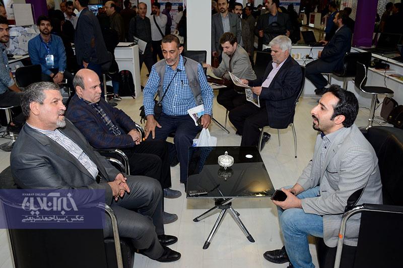 تصاویر | مهمانان گروه رسانهاى خبر در سومین روز نمایشگاه مطبوعات