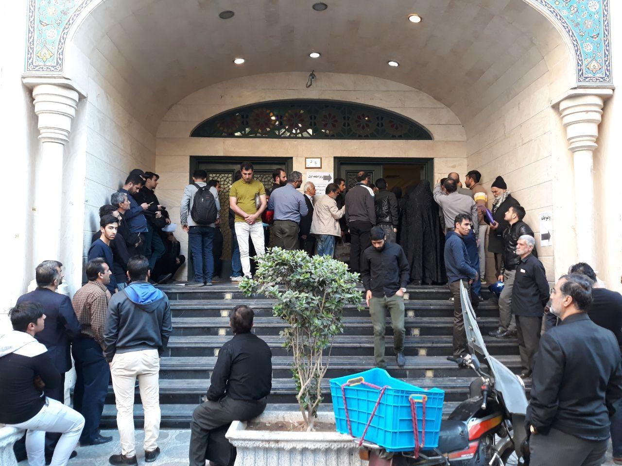 عکس | صف طولانی ویزای عراق در تهران
