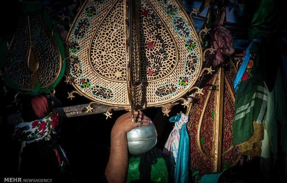 تصاویر | رسم کهن شاهرودیها در یازدهم ماه محرم