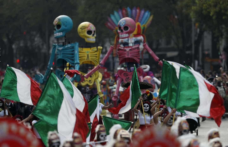 تصاویر | جشن «روز مردگان» در مکزیکو سیتی