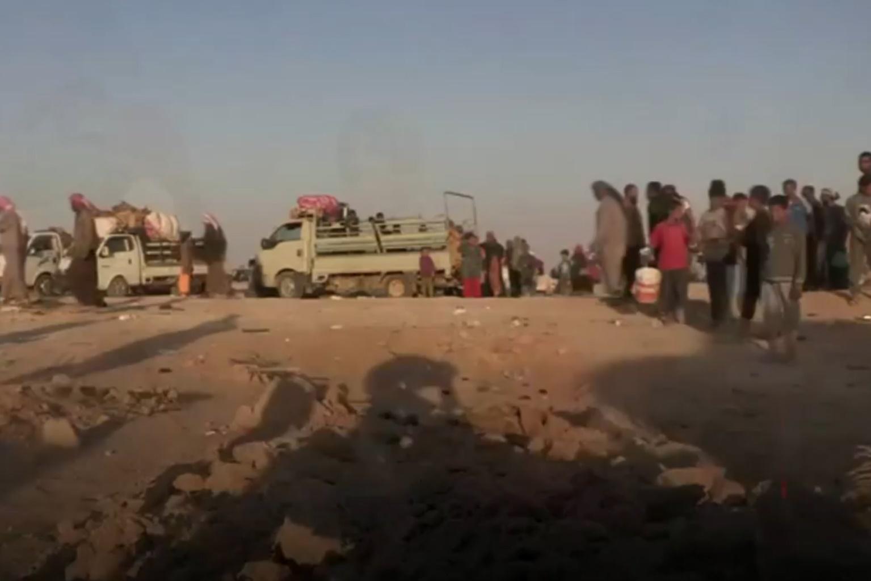 فیلم | بحران انسانی دیرالزور در روزهای پایانی حضور داعش