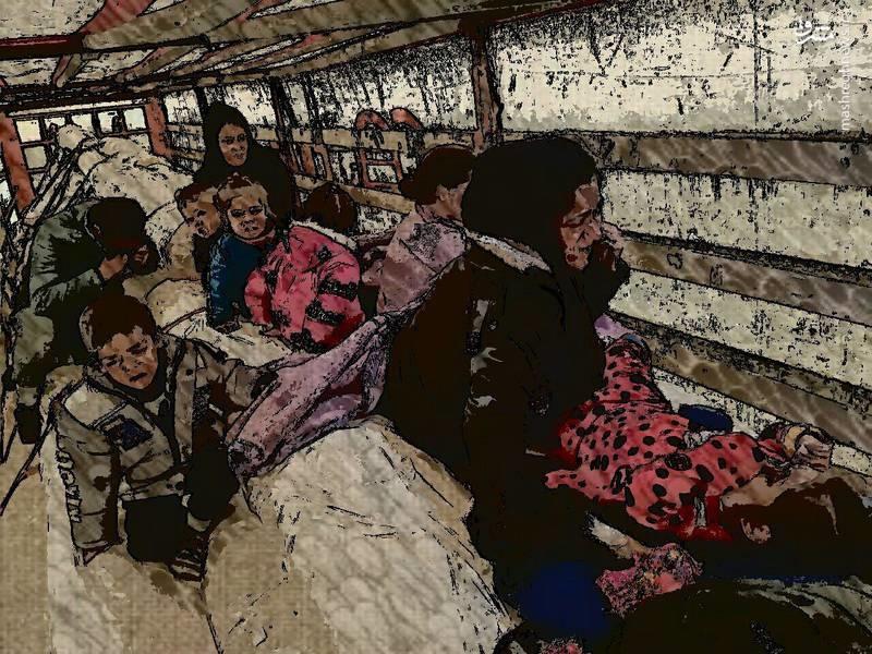 عکس | کشف محموله قاچاق کودک در گمرک