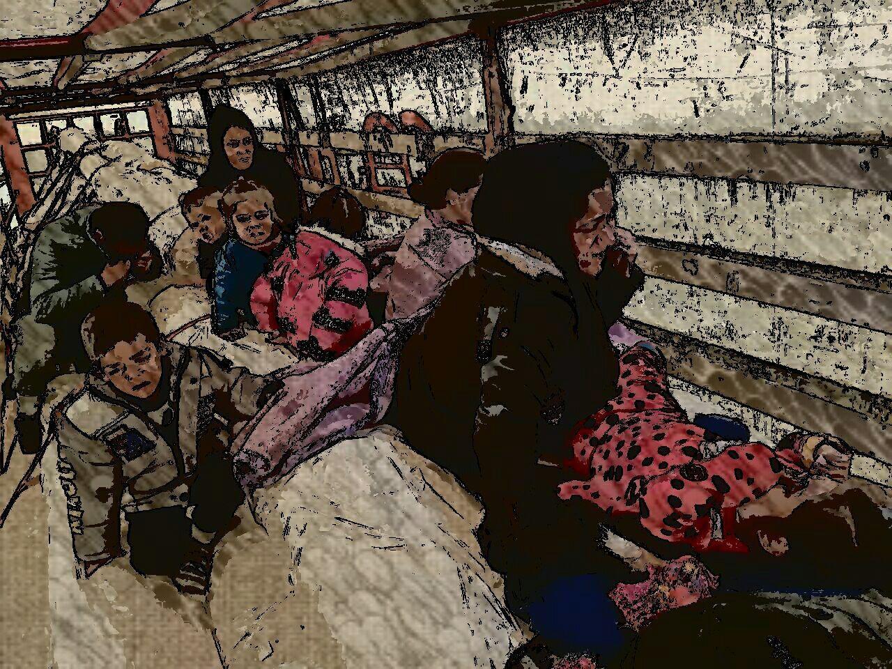 کشف محموله قاچاق کودک توسط ماموران گمرک در مرز بازرگان