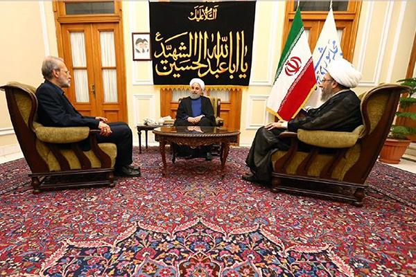 فیلم | روحانی: توطئه اصلی آمریکا مردد کردن مردم نسبت به آینده اقتصادی کشور است