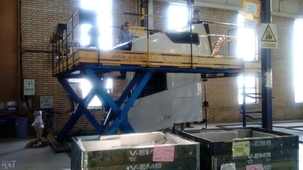 تصاویر | خط تولید کامیون ولوو در ایران را ببینید