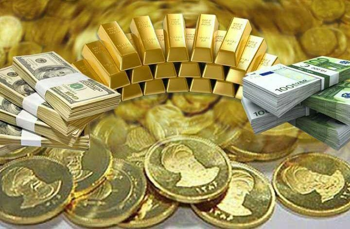 کاهش طلا و ارز در بازار امروز