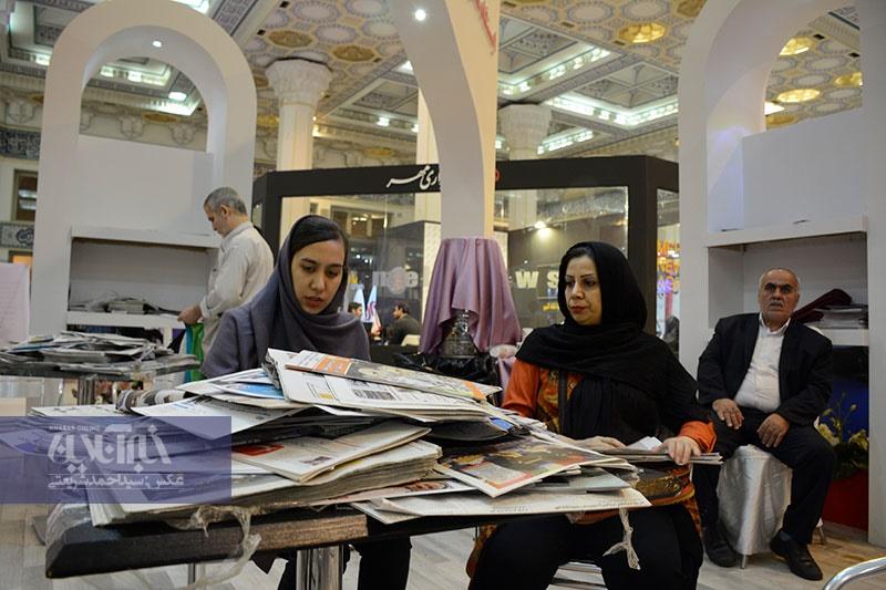 تصاویر | در حاشیه پنجمین روز نمایشگاه مطبوعات
