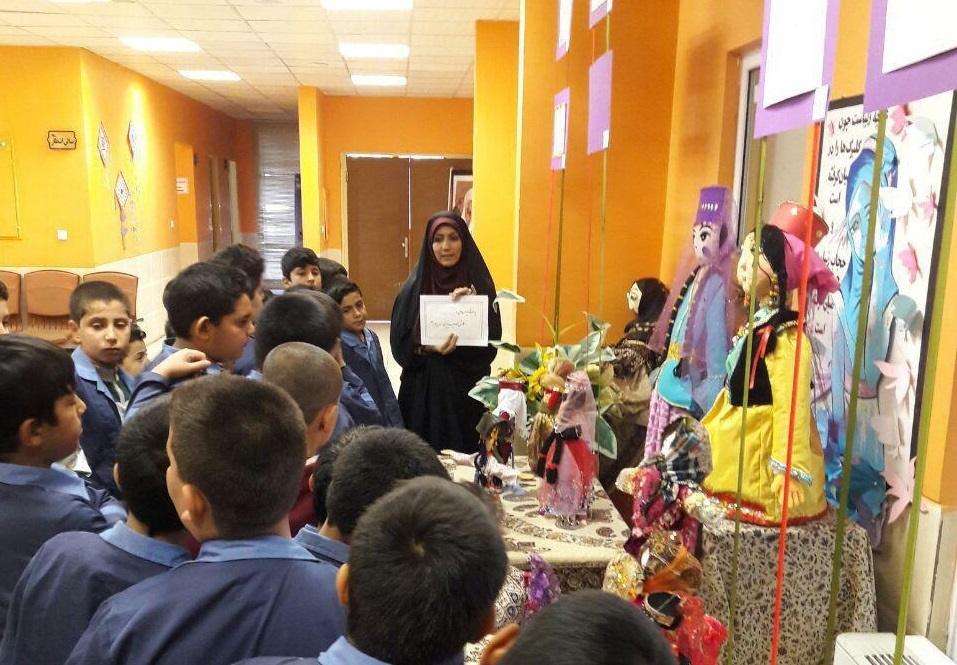 نمایش عروسکهای دستساز کانون پرورش فکری آذربایجانغربی