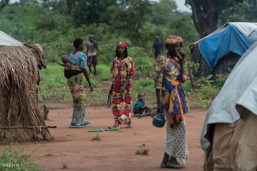 تصاویر | فرار مردم آفریقای مرکزی از خشونتهای داخلی