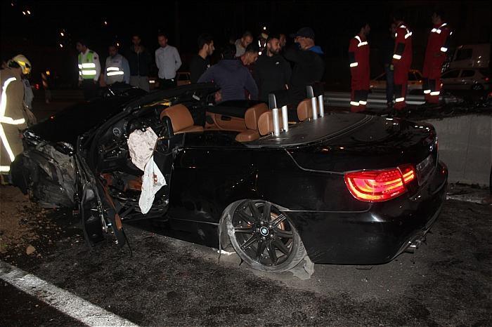 عکس تصادف خودرو حوادث تهران تصادف خودرو لوکس تصادف خودرو گرانقیمت تصادف بی ام و