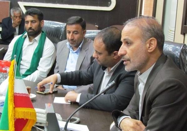 بسیج دستگاه های اجرایی دشت آزادگان برای خدمت رسانی به زائران اربعین حسینی