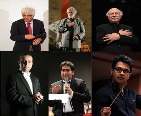 همه چوببهدستان ارکستر ملی در یک نگاه
