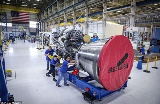 آزمایش قدرتمندترین موتور موشک تاریخ آمریکا
