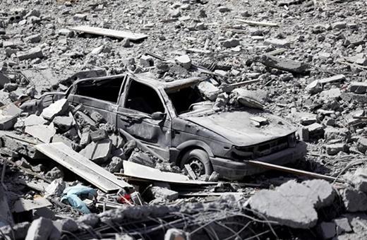 فیلم و عکس   شباهت رقه پس از داعش به برلین پس از جنگجهانی