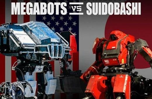 نبرد رباتهای غولپیکر ژاپن و آمریکا در رینگ مبارزه
