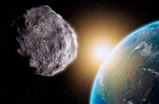 عبور یک سیارک از بیخ گوش زمین