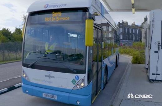 اتوبوسهای هیدروژنی در پایتخت نفتی اروپا