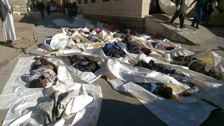 تصاویر   حمله هوایی وحشیانه عربستان به صعده   بیش از ۲۰ نفر کشته شدند