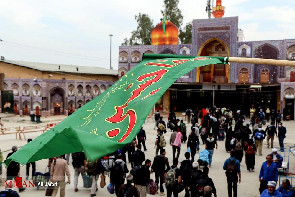 تصاویر | بازگشت زائران اربعین حسینی از مرز مهران