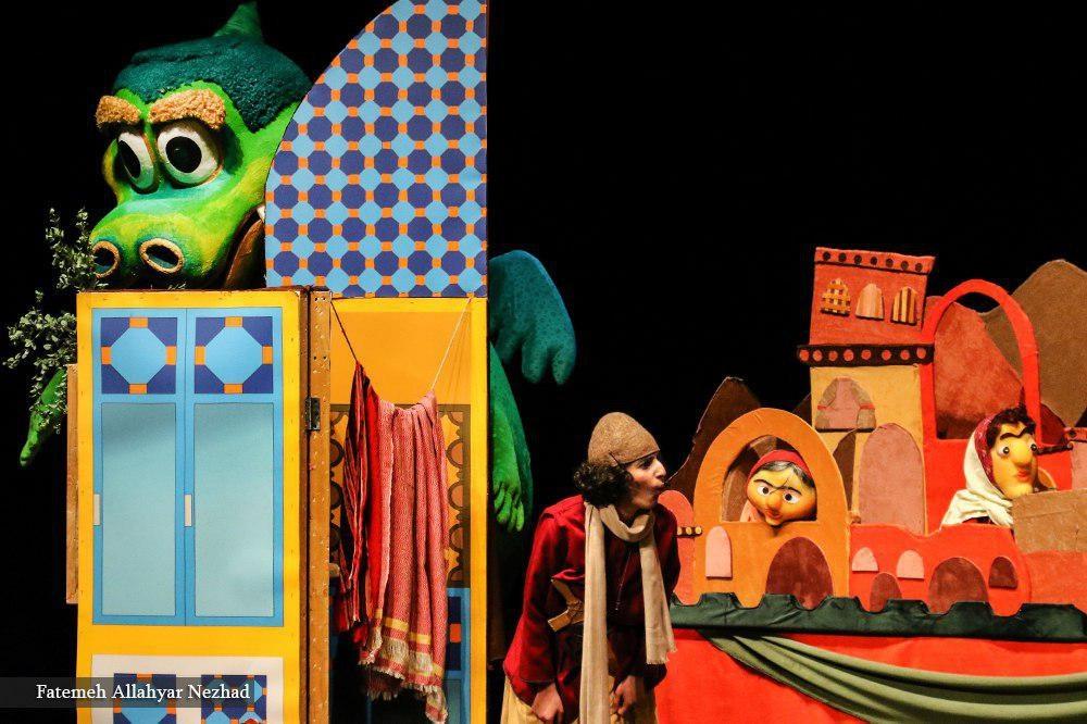 تصاویر|«اژدها، اولین حیوان خانگی» روی صحنه تئاتر