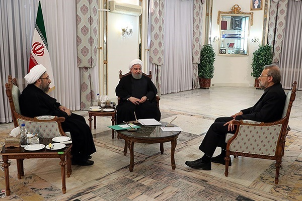 فیلم | اهداف نشست سران قوا از زبان رئیسجمهور | روحانی: رسانهها هوشیار باشند