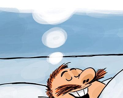بخوابید، لاغر شوید!