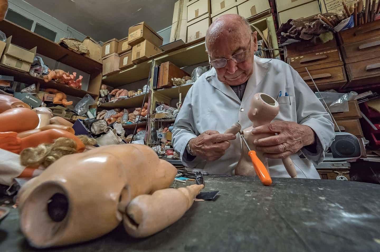 تصاویر | دکتر عروسکها در پاریس!