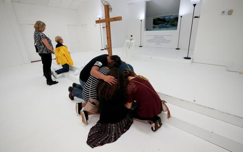 تصاویر | بازگشایی کلیسای تگزاس بعد از تیراندازی مرگبار