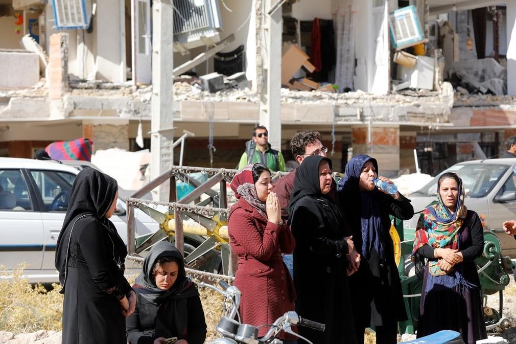 تصاویر گاردین از مناطق زلزلهزده غرب کشور