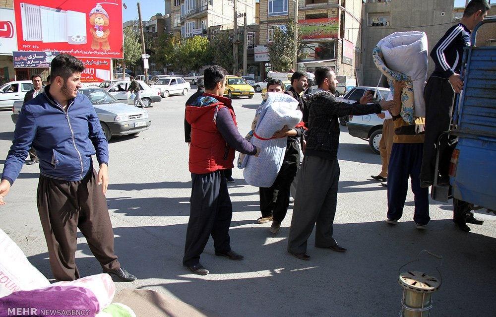 تصاویر | خسارات زلزله در شهرستان جوانرود