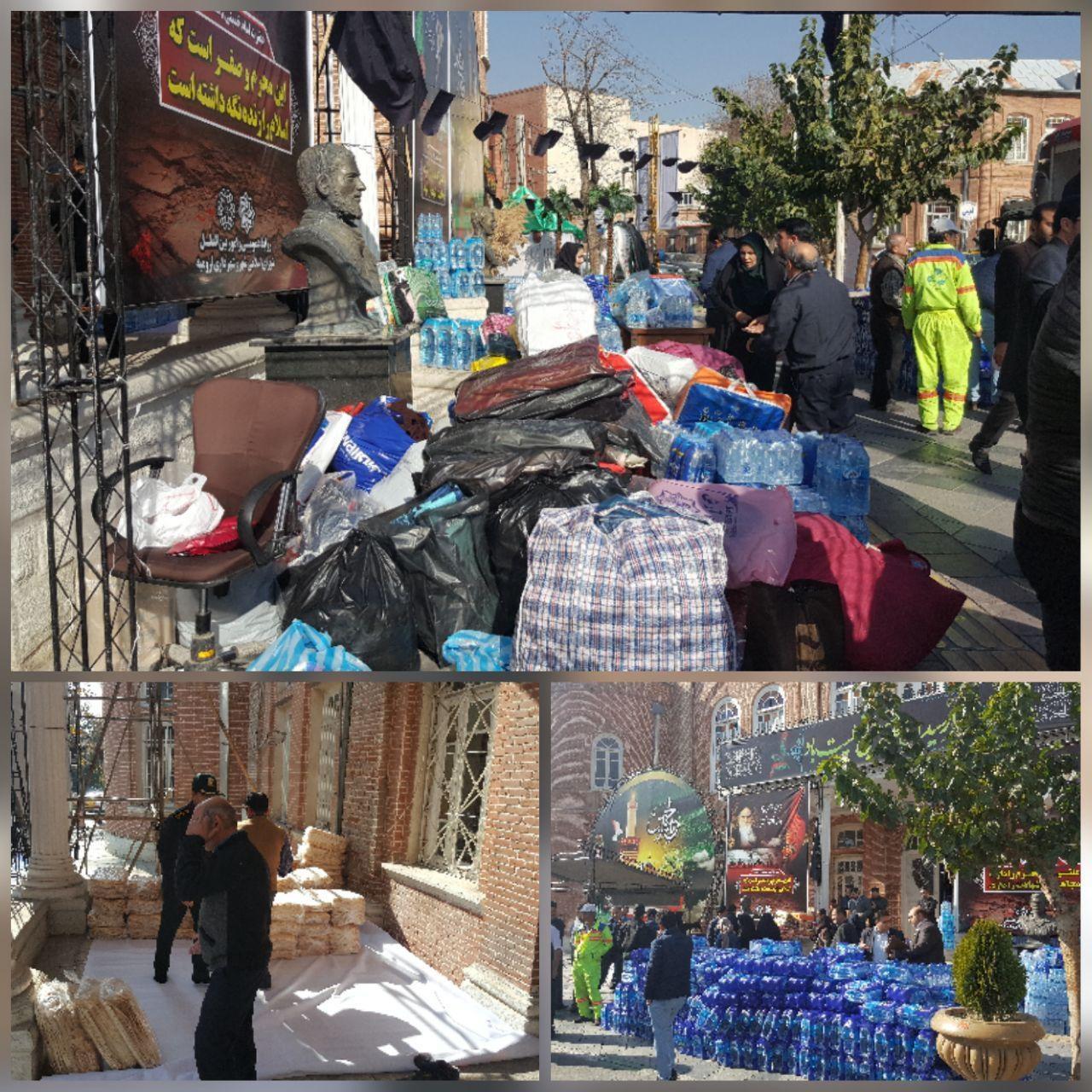 تشکیل پویش انسانیت در آذربایجانغربی برای کمک به زلزله زدگان کرمانشاه