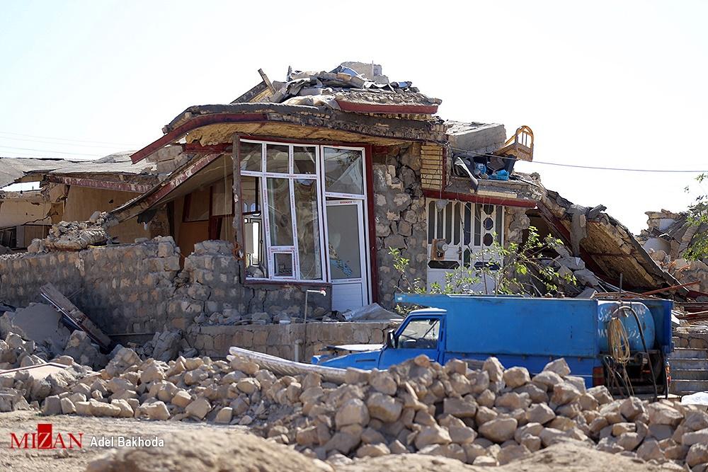 تصاویر | روستاهای سرپل ذهاب در دومین روز بعد از وقوع زلزله ۷.۳ ریشتری