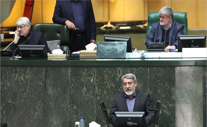 تصاویر | حاشیههای مجلس شورای اسلامی در روز حضور رحمانیفضلی و ظریف