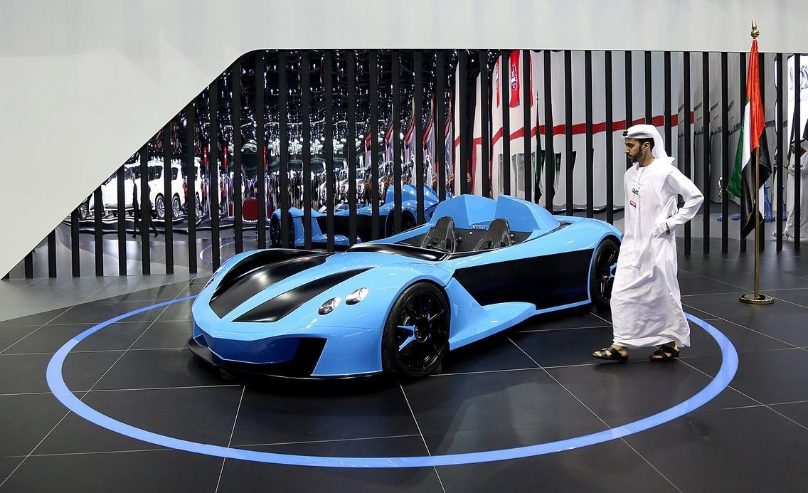تصاویر | دورهمی برندهای معتبر خودروسازی در نمایشگاه دبی