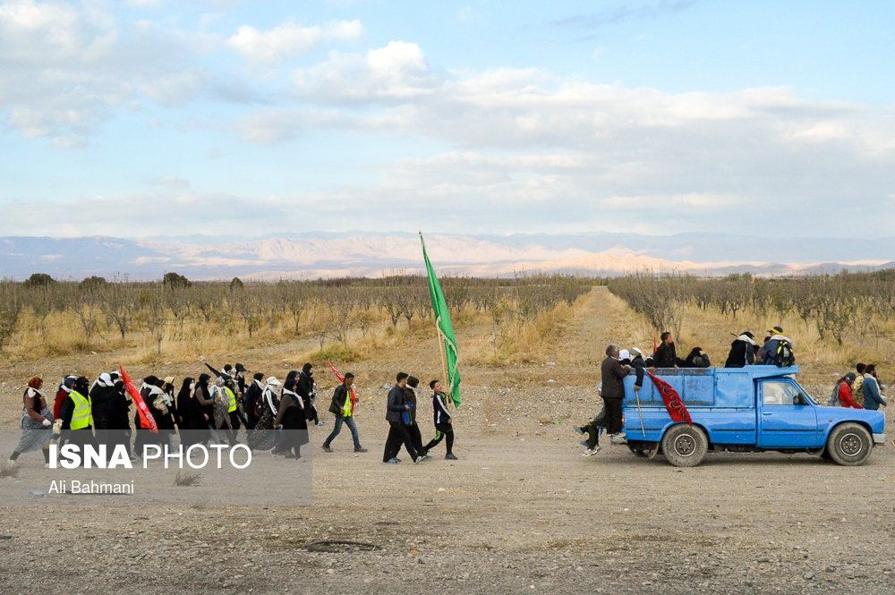 تصاویر | کاروانهای پیاده زائرین امام رضا(ع)