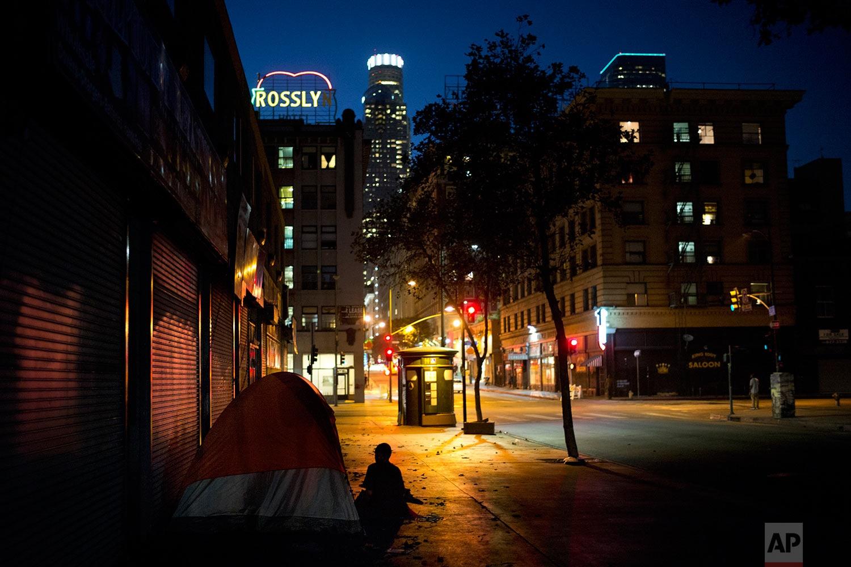 تصاویر   بیخانمانهای آمریکایی