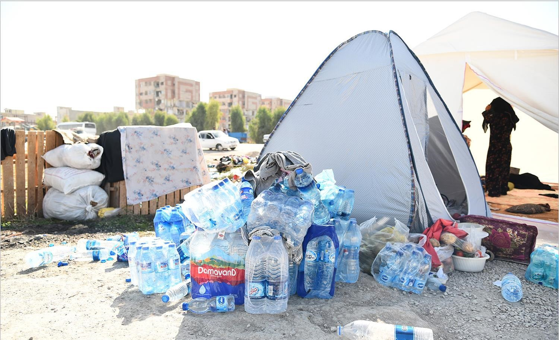 تصاویر | زلزلهدگان کرمانشاه؛ ۶ روز بعد از وقوع زلزله ۷.۳ ریشتری