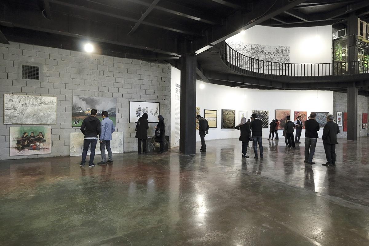 آغاز ۱۱۰ میلیونی نمایشگاه «تنها نیستیم» برای زلزلهزدگان غرب کشور