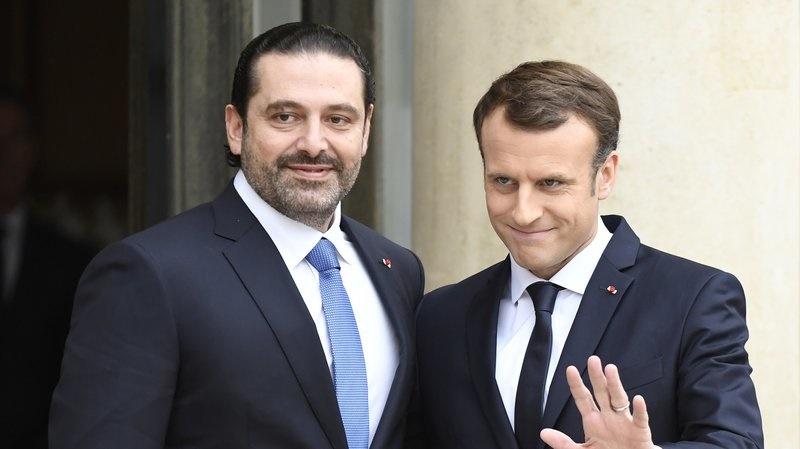 تصاویر   دیدار سعد حریری و رئیس جمهور فرانسه در کاخ الیزه