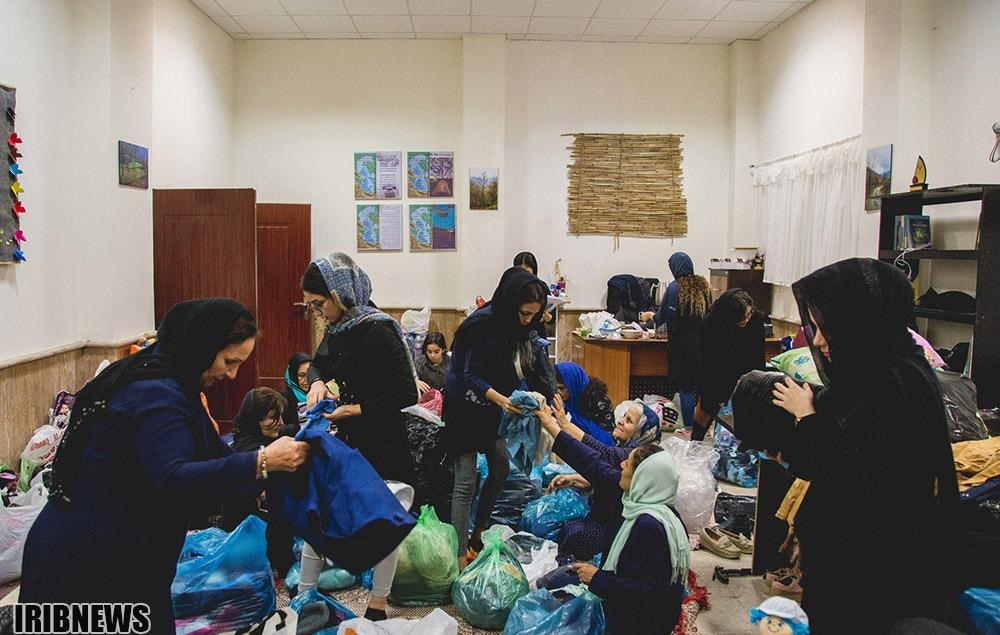 تصاویر | کمکهای مردم گیلان به زلزلهزدگان سر پل ذهاب