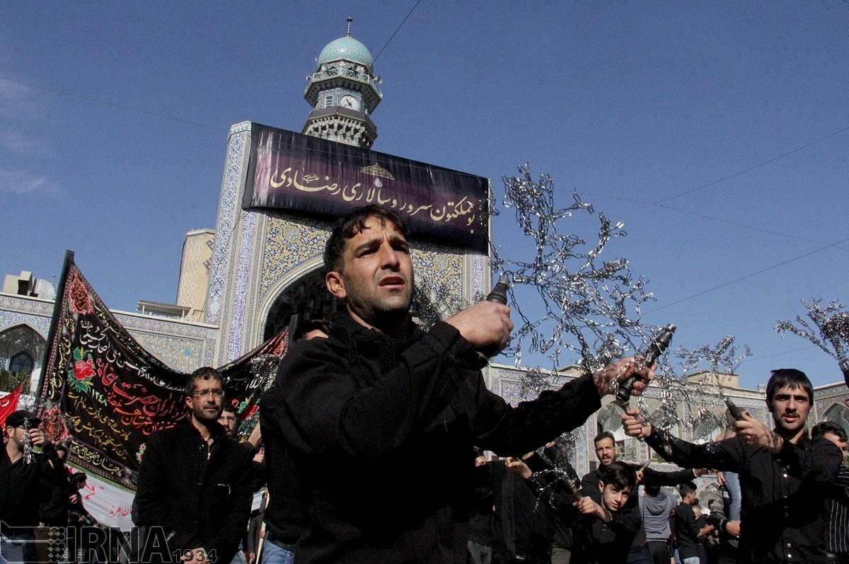 تصاویر | عزاداری سالروز شهادت امام رضا(ع) در مشهد