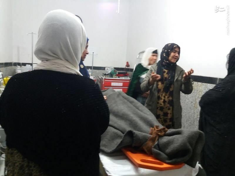 عکس | فوت زنی بر اثر گازگرفتگی در چادر زلزلهزدگان کرمانشاه