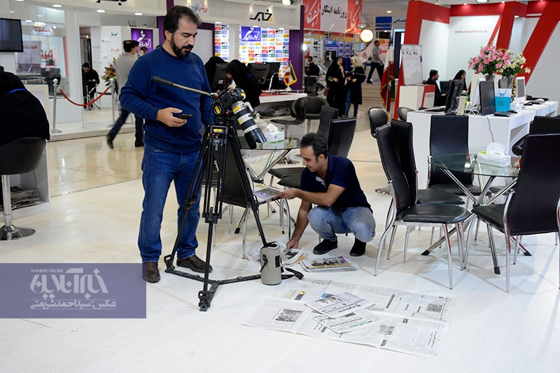 تصاویر | در حاشیه هفتمین روز نمایشگاه مطبوعات