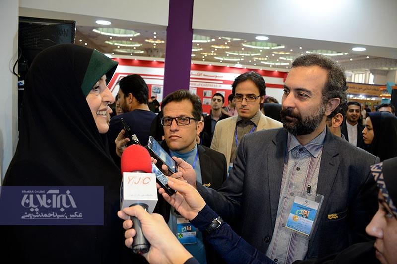 تصاویر | مهمانان گروه رسانهاى خبر در هفتمین روز نمایشگاه مطبوعات/ ۱