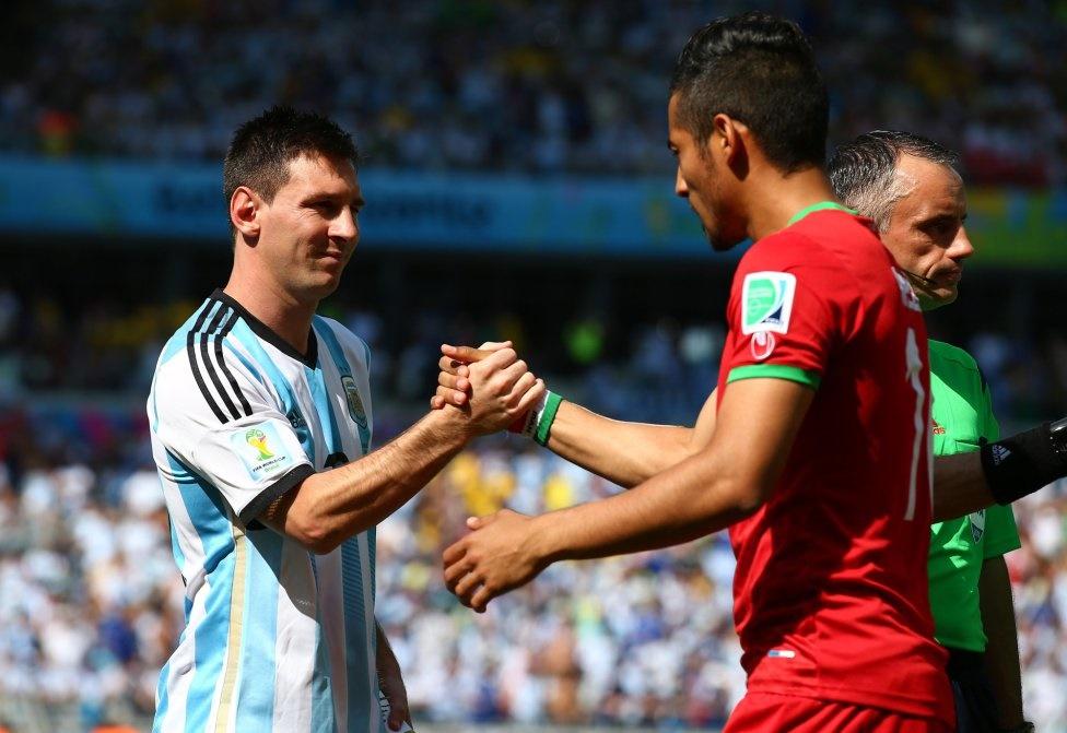 روایتی از جام جهانی ۲۰۱۴؛ کیروش گفت مسی مثل مار است!
