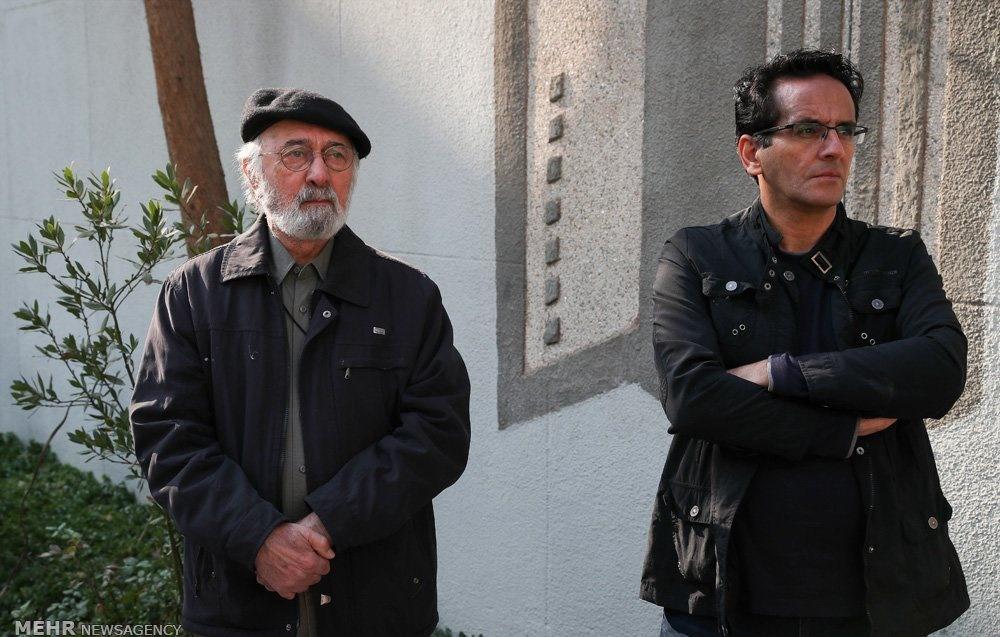 تصاویر | مراسم تشییع پیکر محمد پورستار بازیگر سینما و تلوزیون