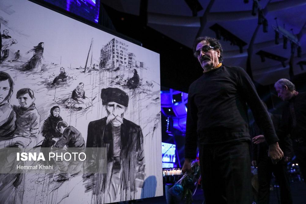 تصاویر | شهرام ناظری و کامکارها برای زلزلهزدگان کرمانشاه نواختند
