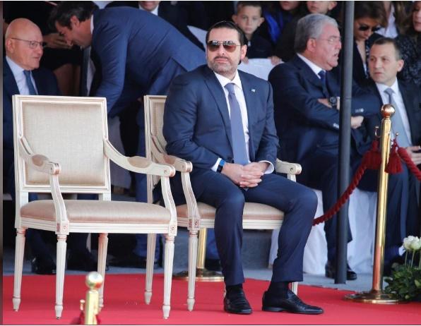 تصاویر | بازگشت حریری به لبنان | از حضور سر مزار پدر تا شرکت در جشن روز ملی استقلال